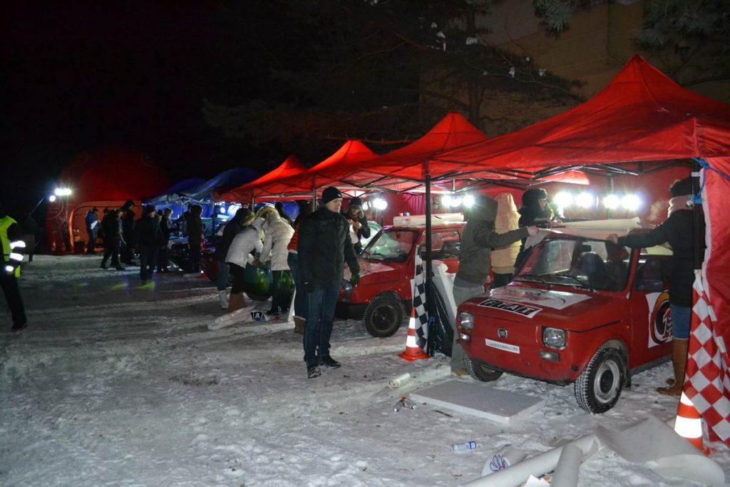 Tutaj także zimą Snow Drift 126p WRC
